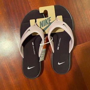 Nike flip flops!